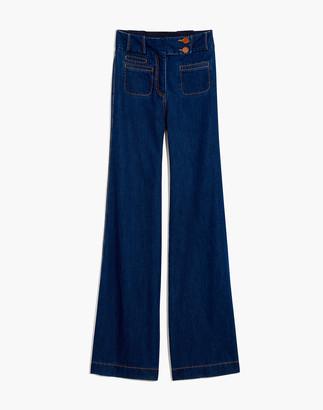 Madewell Karen Walker Original Sin Flare Jeans