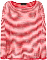 Roberto Collina Striped Print Jumper