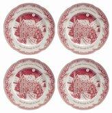 Johnson Bros. Twas the Night Dinner Plates, Set of 4