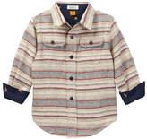Tailor Vintage Double Pocket Landscape Shirt (Toddler & Little Boys)