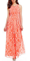Vince Camuto Paisley Maxi Dress