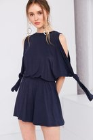 The Fifth Label From This Moment Cold Shoulder Blouson Romper