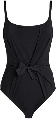 Gottex Bow-Front Swimsuit