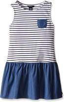 Nautica Baby Jersey Stripe and Mix Dress
