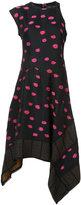 Proenza Schouler asymmetric flared dress - women - Polyester/Viscose - 4