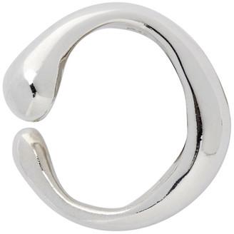 FARIS Silver Vero Single Ear Cuff