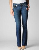 True Religion Womens Originals Becky Mid Rise Bootcut Jean