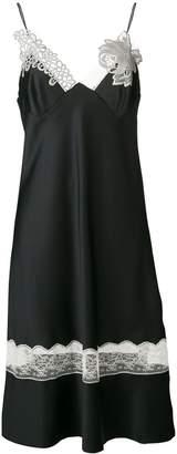 Maison Margiela lace detail camisole dress