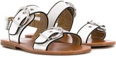 Gallucci Kids buckle-embellished sandals
