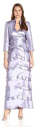 Jessica Howard Women's Jacket Dress with Artichoke Skirt