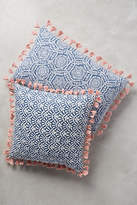 Anthropologie Folding Fans Pillow