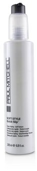 Paul Mitchell Soft Style Quick Slip (Faster Styling - Soft Texture) 200ml/6.8oz