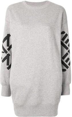 Kenzo Big X sweatshirt dress