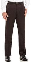 Roundtree & Yorke Travel Smart Non-Iron Flat Front Ultimate Comfort Microfiber Stretch Dress Pants