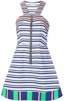 Tanya Taylor striped a-line dress