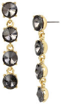 Kenneth Cole New York Faceted Stone Linear Earrings