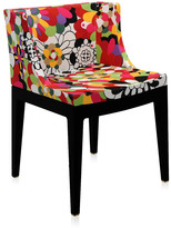 Kartell Mademoiselle 'a la mode' Black Chair - Vevey Red Tones