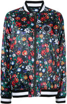 The Upside wildflowers print bomber jacket