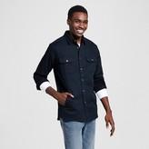 Men's Denim Shirt Jacket Black - Mossimo Supply Co.