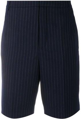 Saint Laurent pinstripe Bermuda shorts