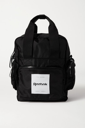 Reebok x Victoria Beckham Convertible Appliqued Shell Backpack