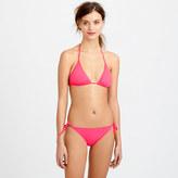 J.Crew Neon string bikini top