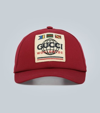 Gucci Baseball cap with Worldwide patch