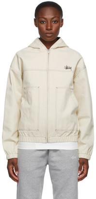 Stussy Off-White Work Jacket
