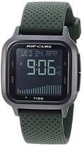 Rip Curl Men's Quartz Sport Watch with Silicone Strap