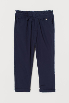 H&M Cotton pull-on trousers