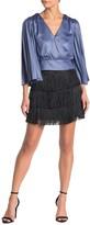 Do & Be Do + Be Fringe Mini Skirt