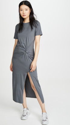 Stateside Supima Twist Dress