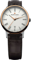Maurice Lacroix Lc6067-ps101-310 Gents les classique 18ct pink gold-plated watch