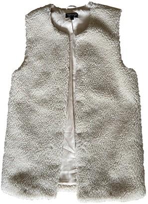 Topshop Tophop Beige Coat for Women