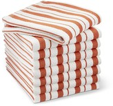 Williams-Sonoma Williams Sonoma Classic Striped Dishcloths, Pumpkin