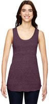 Alternative Womens Meegs Racerback Eco-Jersey Tank Top Small Eco True Eggplant