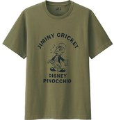 Uniqlo Men Disney Project Short Sleeve Graphic T-Shirt