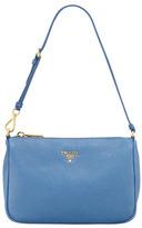 Prada Daino Small Shoulder Bag, Cobalt (Cobalto)