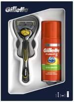 Gillette Fusion5 ProShield Razor + Sensitive Shaving Gel 75ml Gift Set