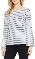 Women's Two By Vince Camuto Bell Sleeve Stripe Top