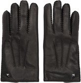 Valentino Black Mini Rockstud Gloves