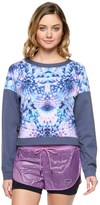 Juicy Couture Compression Prism Floral Pullover