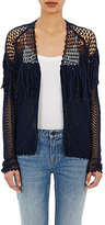 Ulla Johnson WOMEN'S FRINGED CROCHET CLARICE CARDIGAN