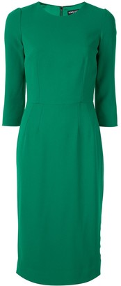 Dolce & Gabbana fitted midi dress