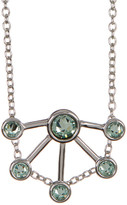 Rebecca Minkoff Crystal Detail Fan Pendant Necklace