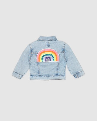 Gapkids Flip Rainbow Denim Jacket - Teens