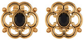 Carolee Large Scroll Clip-On Earrings