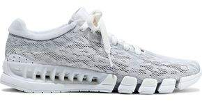 adidas by Stella McCartney Kea Clima Pointelle-knit Sneakers