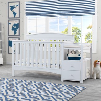 N. Delta Children Birkley Convertible Baby Crib Changer