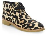 Kate Spade Barrow Leopard-Print Calf Hair Booties